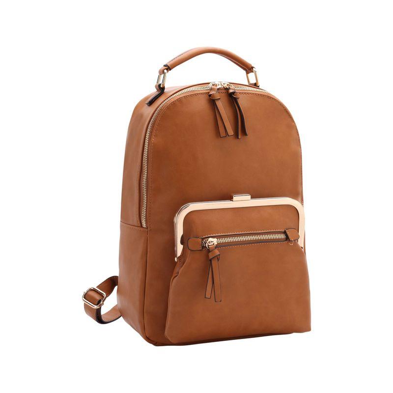 ダセイン メンズ バックパック・リュックサック バッグ Twist Lock Pouch Backpack Brown