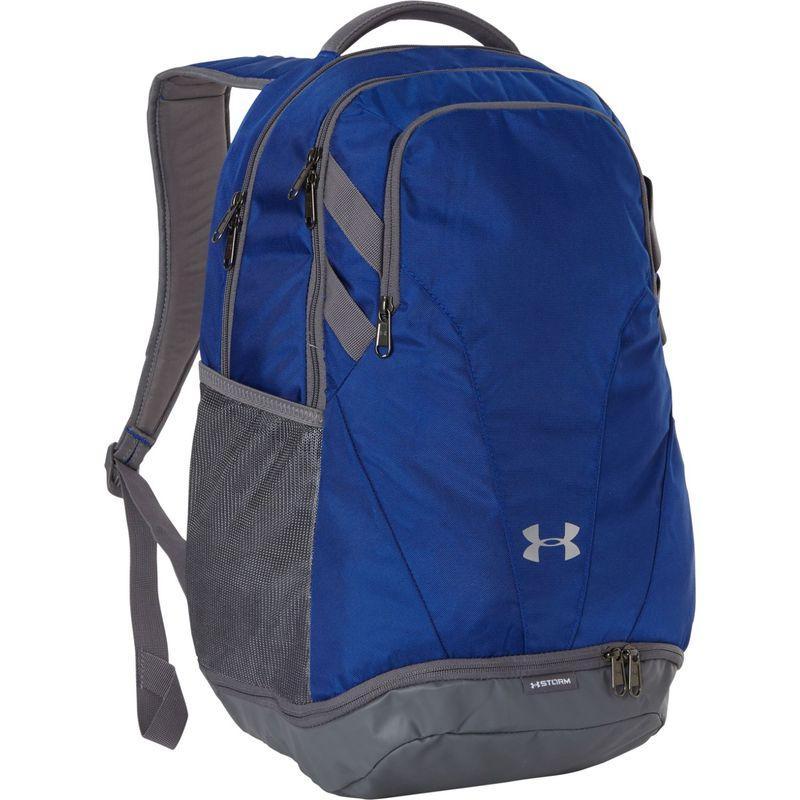 アンダーアーマー メンズ バックパック・リュックサック バッグ Team Hustle 3.0 Backpack Royal/Gray/Gray