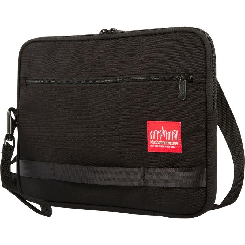 マンハッタンポーテージ メンズ スーツケース バッグ Henry Portfolio Case - Large Black