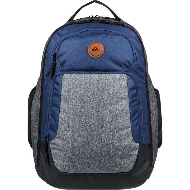 クイックシルバー メンズ バックパック・リュックサック バッグ Shutter Everyday Laptop Backpack Medieval Blue Heather
