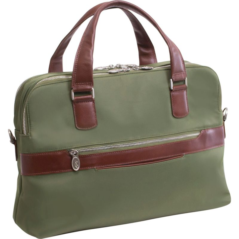 マックレイン メンズ スーツケース バッグ Hartford Brief Green