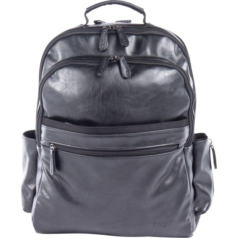 ブガッティ メンズ スーツケース バッグ Valentino Backpack Black