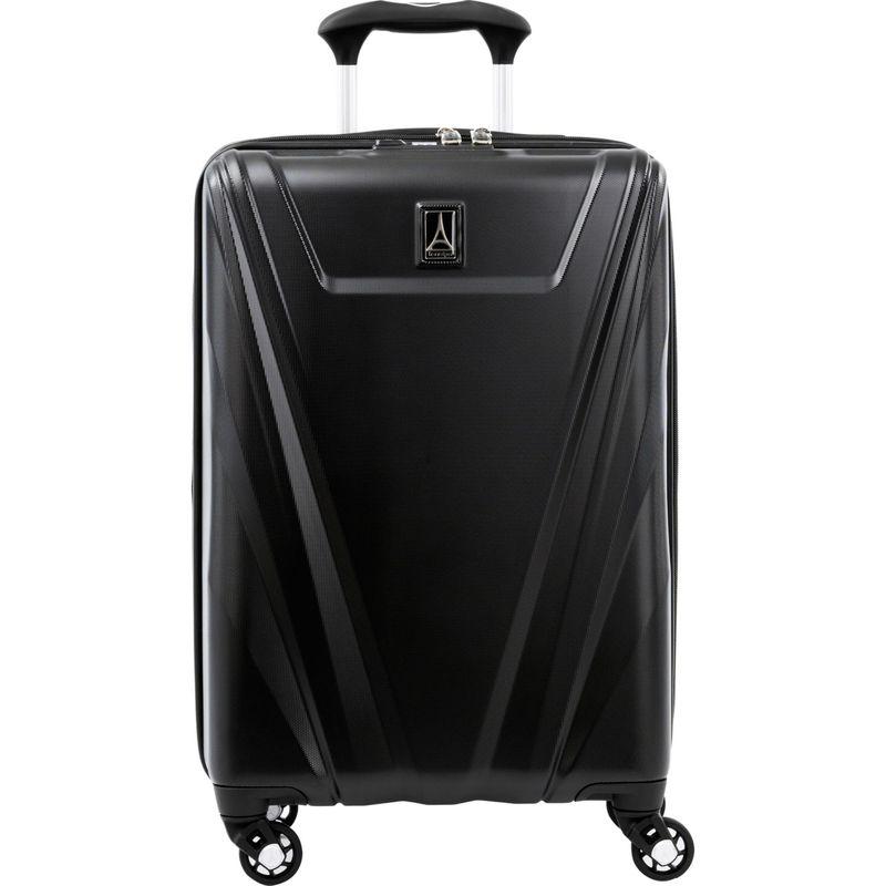 トラベルプロ メンズ スーツケース バッグ Maxlite 5 21 Expandable Hardside Carry-On Spinner Black