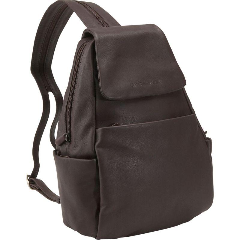 デレクアレクサンダー メンズ バックパック・リュックサック バッグ Sling/Backpack Brown