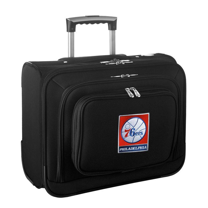 デンコスポーツ メンズ スーツケース バッグ NBA 14 Laptop Overnighter Philadelphia 76ers