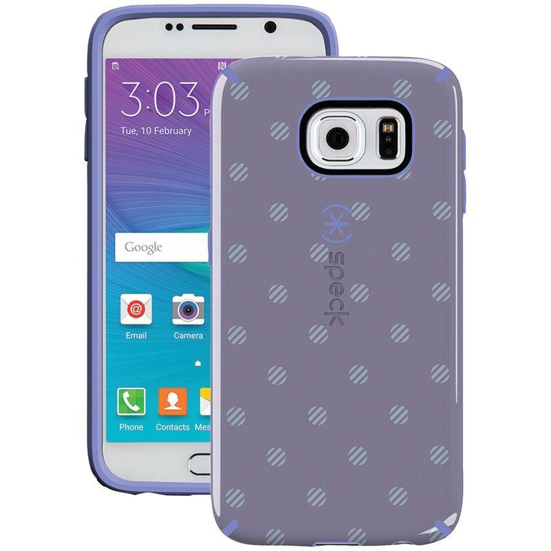 スペック メンズ PC・モバイルギア アクセサリー Samsung Galaxy S 6 Candyshell Inked Case Purple