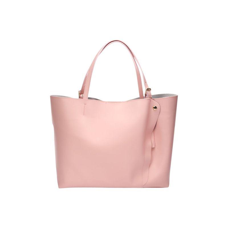 リサミナルディ メンズ ショルダーバッグ バッグ Leather Shoulder Bag Rose