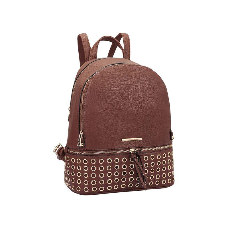 ダセイン メンズ バックパック・リュックサック バッグ Round Studded Backpack Coffee