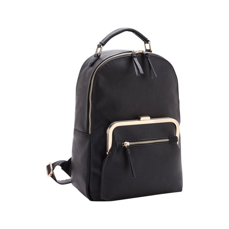 ダセイン メンズ バックパック・リュックサック バッグ Twist Lock Pouch Backpack Black