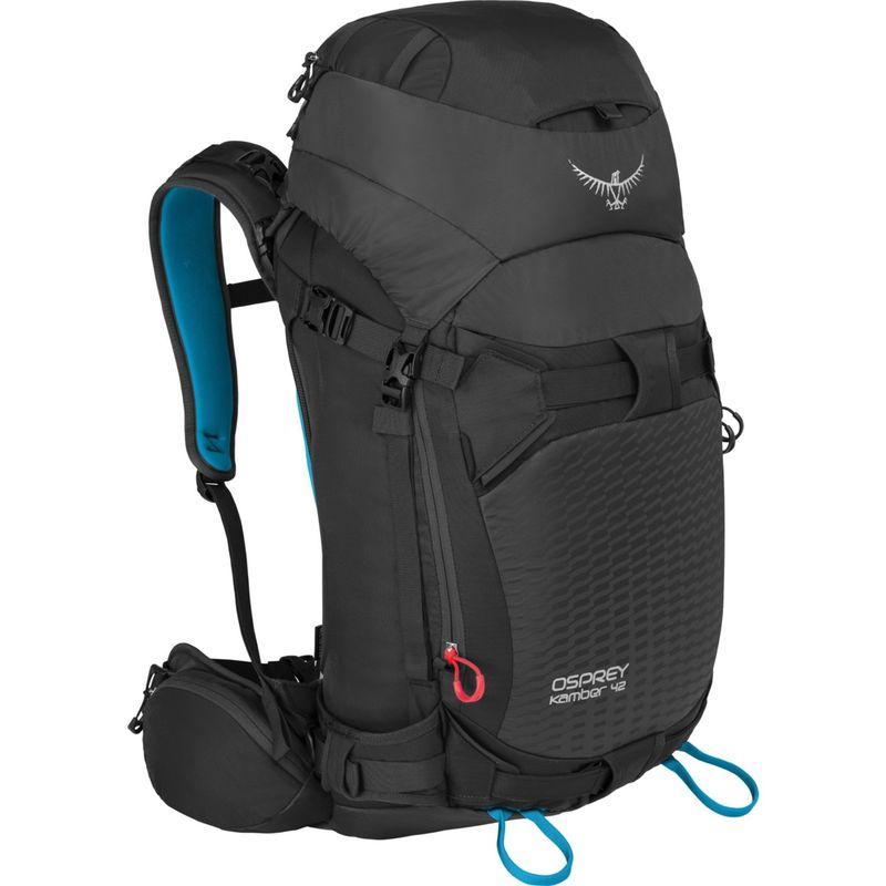 オスプレー メンズ ボストンバッグ バッグ Kamber 42 Hiking Backpack Galactic Black M/L