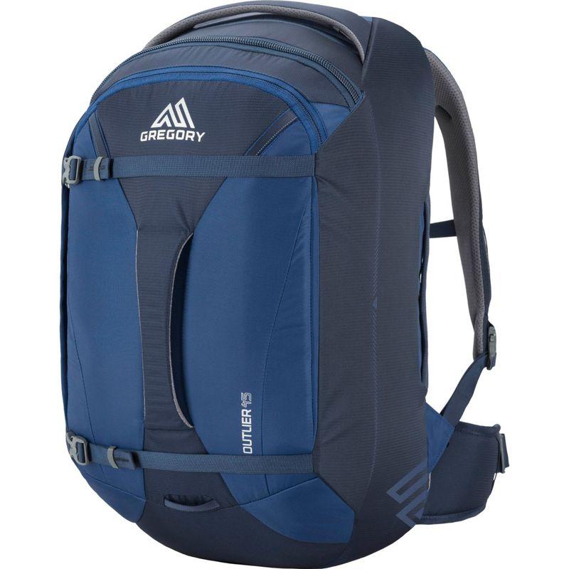 グレゴリー メンズ バックパック・リュックサック バッグ Praxus 45L Hiking Backpack Indigo Blue