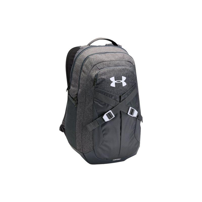 アンダーアーマー メンズ バックパック・リュックサック バッグ Recruit Laptop Backpack 2.0 Graphite Heather/Graphite/White