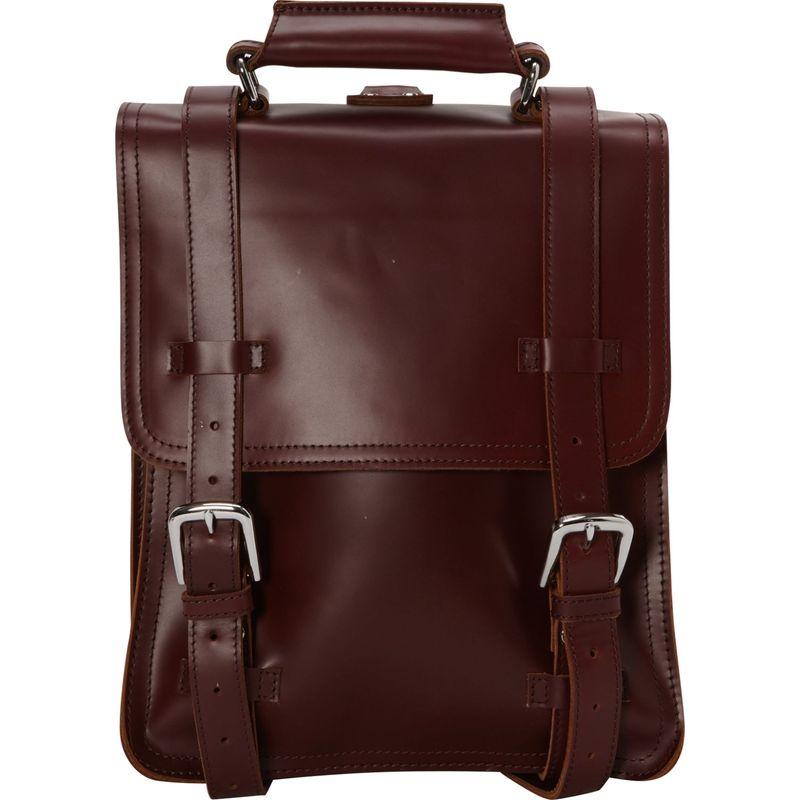 ヴァガボンドトラベラー メンズ スーツケース バッグ Classic Full Grain Leather Backpack Shoulder Bag Wine Red