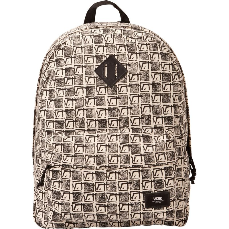 バンズ メンズ バックパック・リュックサック バッグ Old Skool Plus Laptop Backpack Vintage V Check