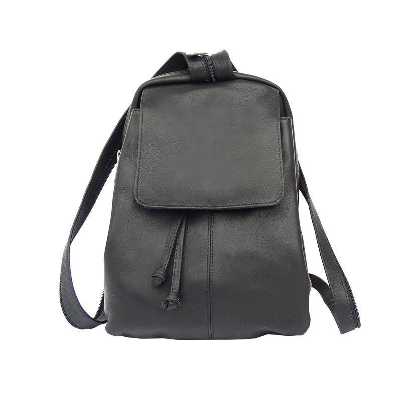 ピエール メンズ バックパック・リュックサック バッグ Small Drawstring Backpack Black