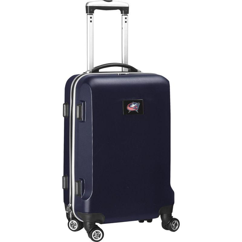 デンコスポーツ メンズ スーツケース バッグ NHL 20 Domestic Carry-On Navy Columbus Blue Jackets