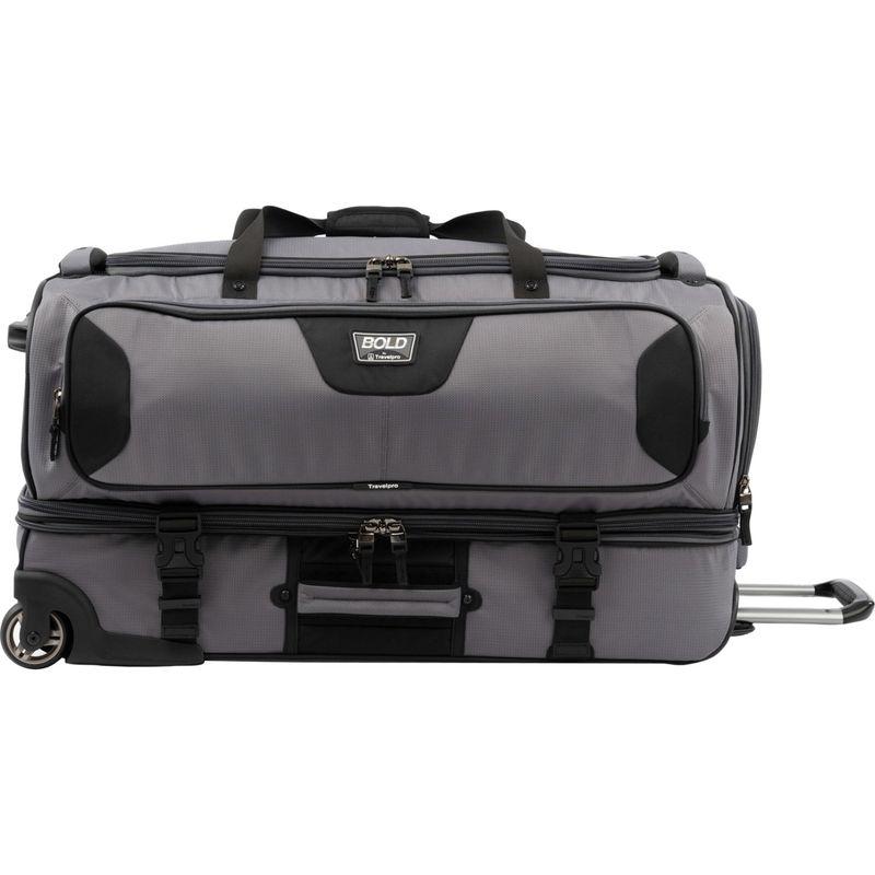 トラベルプロ メンズ スーツケース バッグ T-Pro Bold 2.0 30 Rolling Duffle Grey & black