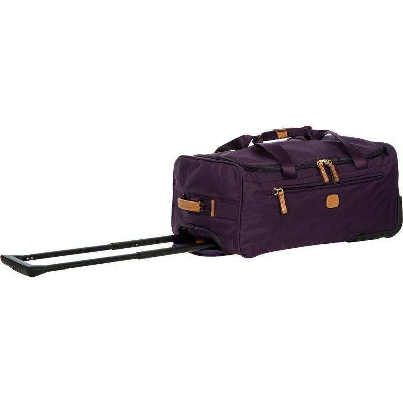 """ブリックス メンズ スーツケース バッグ X-Bag 21"""" Rolling Duffle Violet"""
