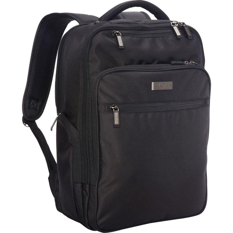 ケネスコール メンズ スーツケース バッグ The Brooklyn Commuter 15 RFID Laptop Backpack - eBags Exclusive Black - eBags Exclusive