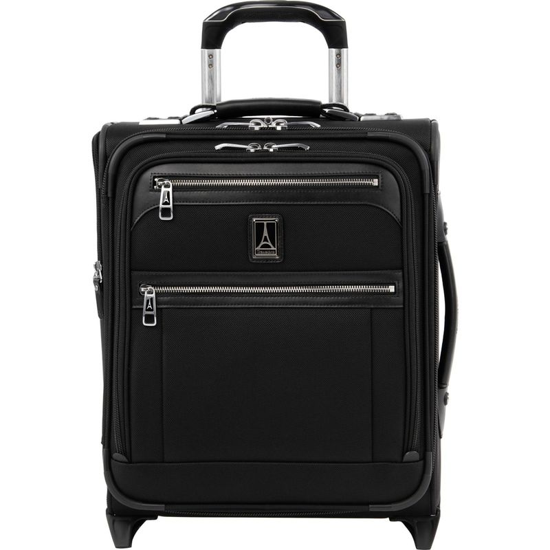 トラベルプロ メンズ スーツケース バッグ Platinum Elite Regional Carry-On Rollaboard with USB Port Shadow Black
