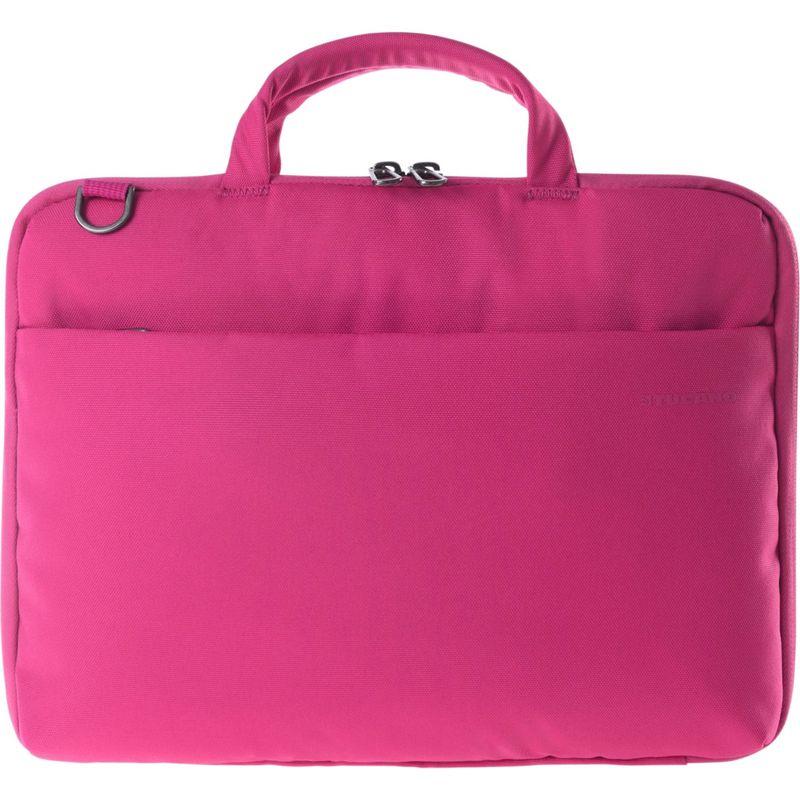 ツカーノ メンズ スーツケース バッグ Darkolor 14 Laptop Slim Bag Fuchsia