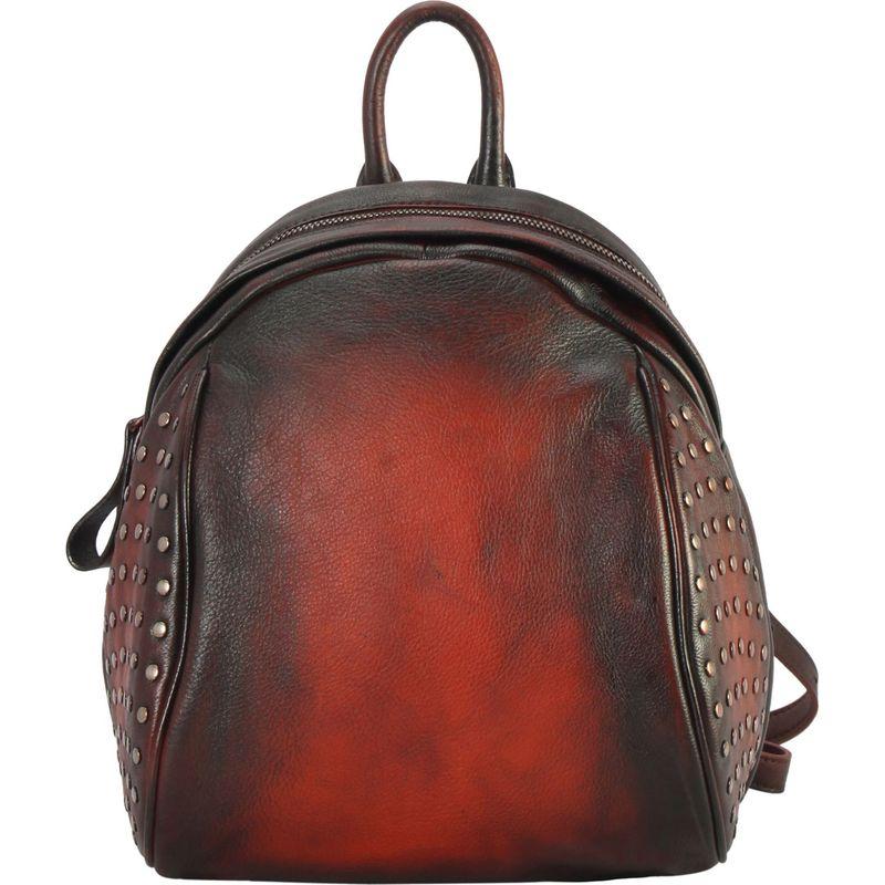 ディオフィ メンズ バックパック・リュックサック バッグ Two Tone Studded Small Backpack Orange