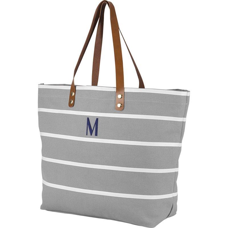 キャシーズ コンセプツ メンズ トートバッグ バッグ Monogram Tote Bag Grey - M