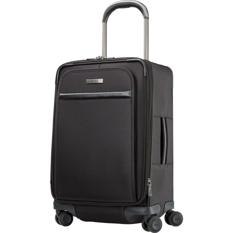 ハートマンラッゲージ メンズ スーツケース バッグ Metropolitan 2 Global Carry On Expandable Spinner Deep Black