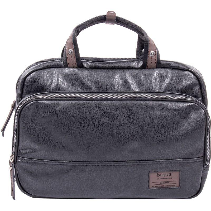 ブガッティ メンズ スーツケース バッグ Moto-D Slim Briefcase Black