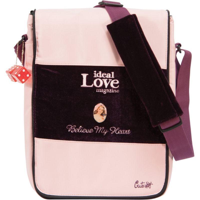 モバイルエッジ メンズ スーツケース バッグ Maddie Powers CuteBug 14.1PC / 15 MacBook Pro Laptop Hipster Pink