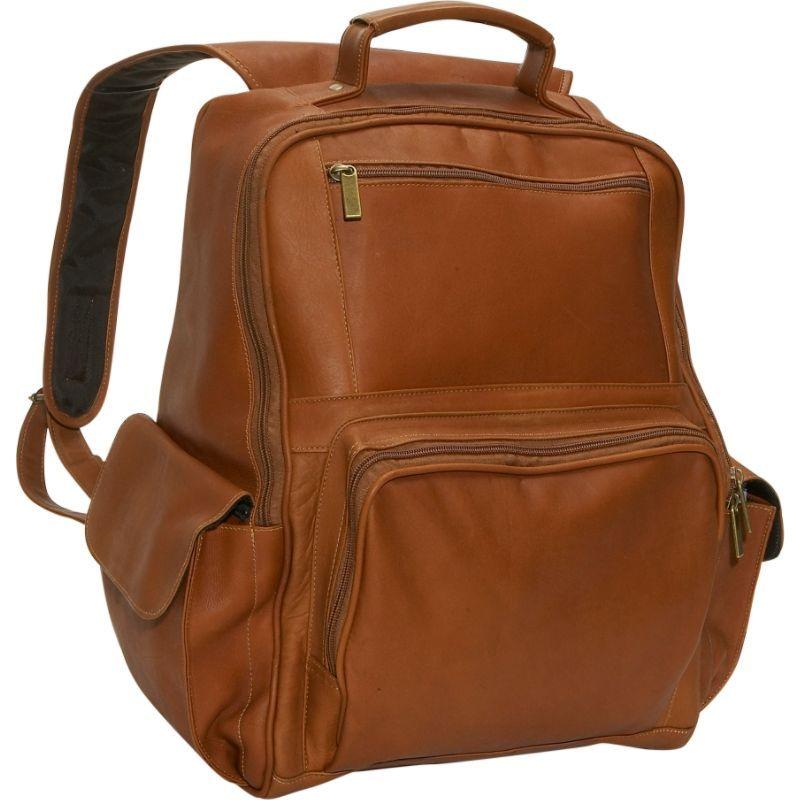 デビッドキング メンズ スーツケース バッグ Large Computer Backpack Tan