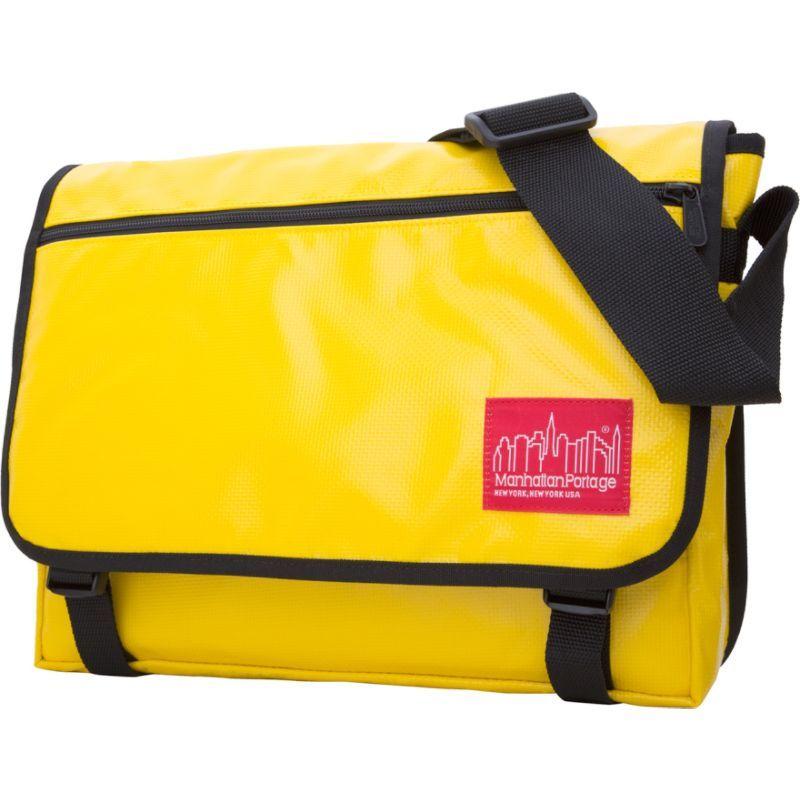 マンハッタンポーテージ メンズ ショルダーバッグ バッグ Europa Messenger Bag Vinyl (MED) Yellow