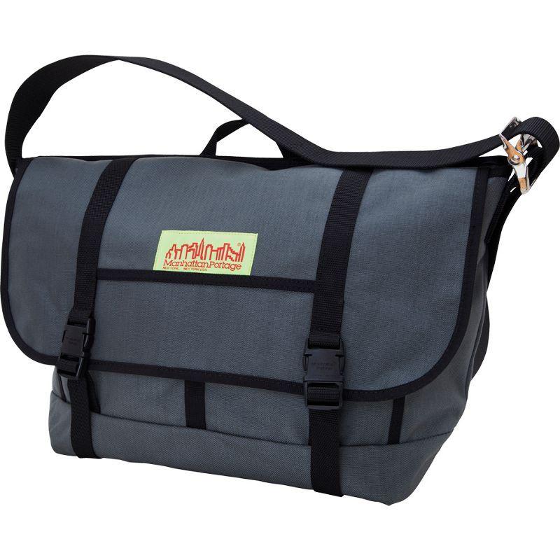 マンハッタンポーテージ メンズ ショルダーバッグ バッグ NY Bike Messenger Bag Gray