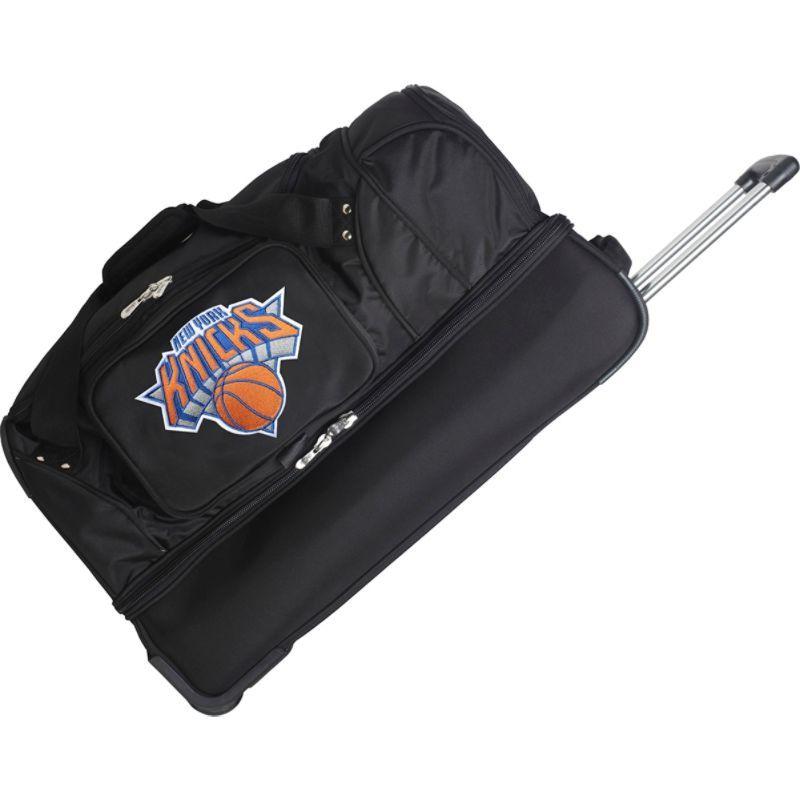 デンコスポーツ メンズ スーツケース バッグ NBA 27 Drop Bottom Wheeled Duffel Bag New York Knicks