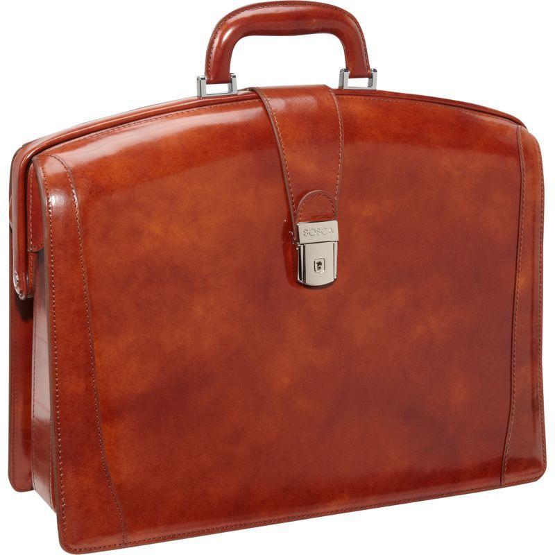ボスカ メンズ スーツケース バッグ Partners Brief Old Leather Amber (27)