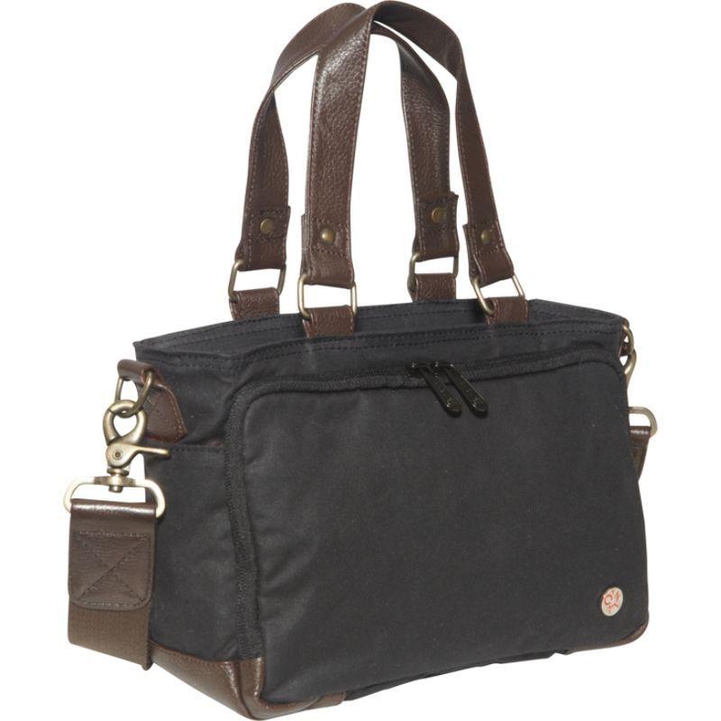 トーケン メンズ スーツケース バッグ Nostrand Waxed duffle Bag (XXS) Black