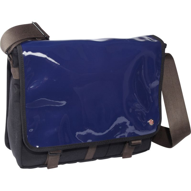 トーケン メンズ ショルダーバッグ バッグ Metropolitan Enamel DJ Bag (M) Royal Blue