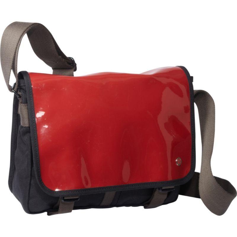 トーケン メンズ ショルダーバッグ バッグ Metropolitan Enamel DJ Bag (S) Red