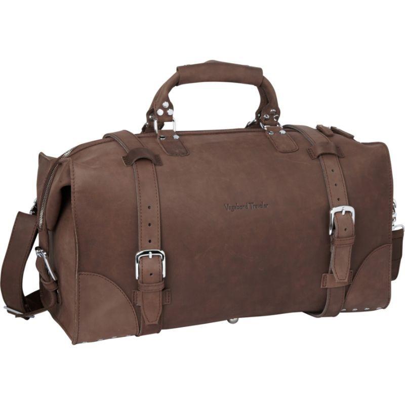 ヴァガボンドトラベラー メンズ スーツケース バッグ 21 Cowhide Full Leather Travel Duffle Bag Vintage Distress
