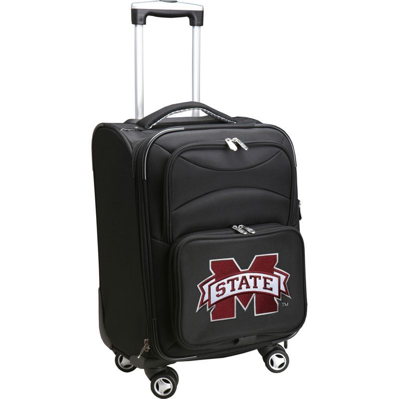 デンコスポーツ メンズ スーツケース バッグ NCAA 20 Domestic Carry-On Spinner Mississippi State University Bulldogs