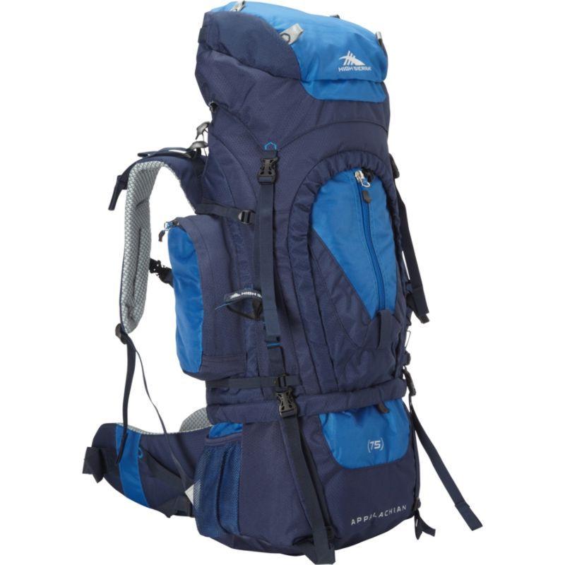 ハイシエラ メンズ バックパック・リュックサック バッグ Appalachian 75 Backpacking Pack True Navy/Royal/True Navy