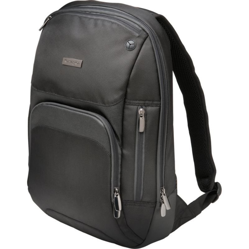 ケンジントン メンズ スーツケース バッグ Triple Trek Ultrabook Optimized Laptop Backpack - 14 Black