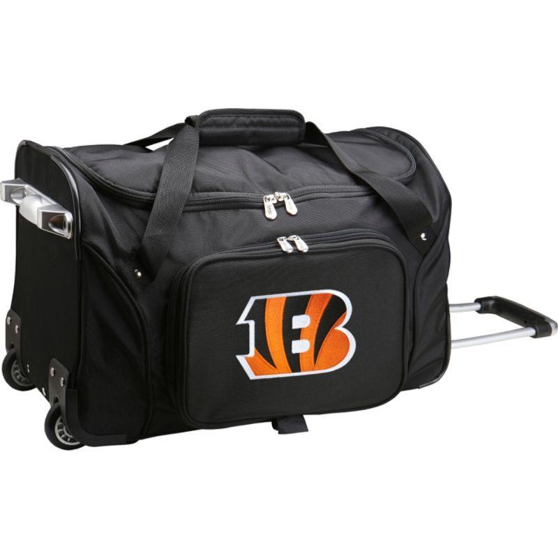 デンコスポーツ メンズ スーツケース バッグ NFL 22 Rolling Duffel Cincinnati Bengals