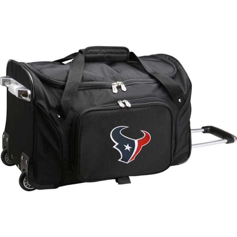 デンコスポーツ メンズ スーツケース バッグ NFL 22 Rolling Duffel Houston Texans