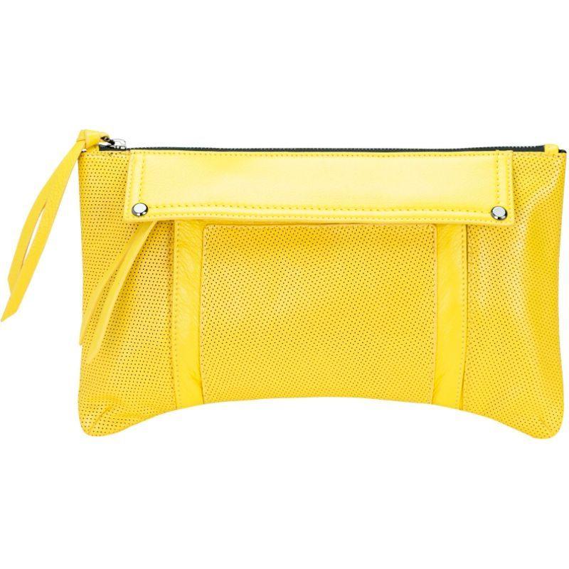 モフェ メンズ セカンドバッグ・クラッチバッグ バッグ Kismet Clutch Yellow (Gunmetal Hardware)