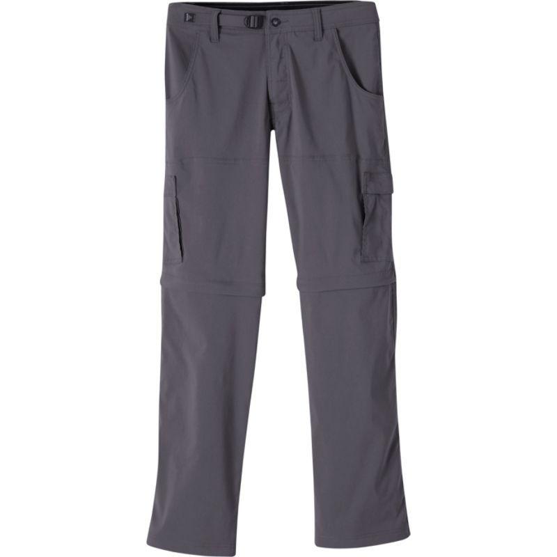 プラーナ メンズ カジュアルパンツ ボトムス Stretch Zion Convertible Pants - 30 Inseam Charcoal