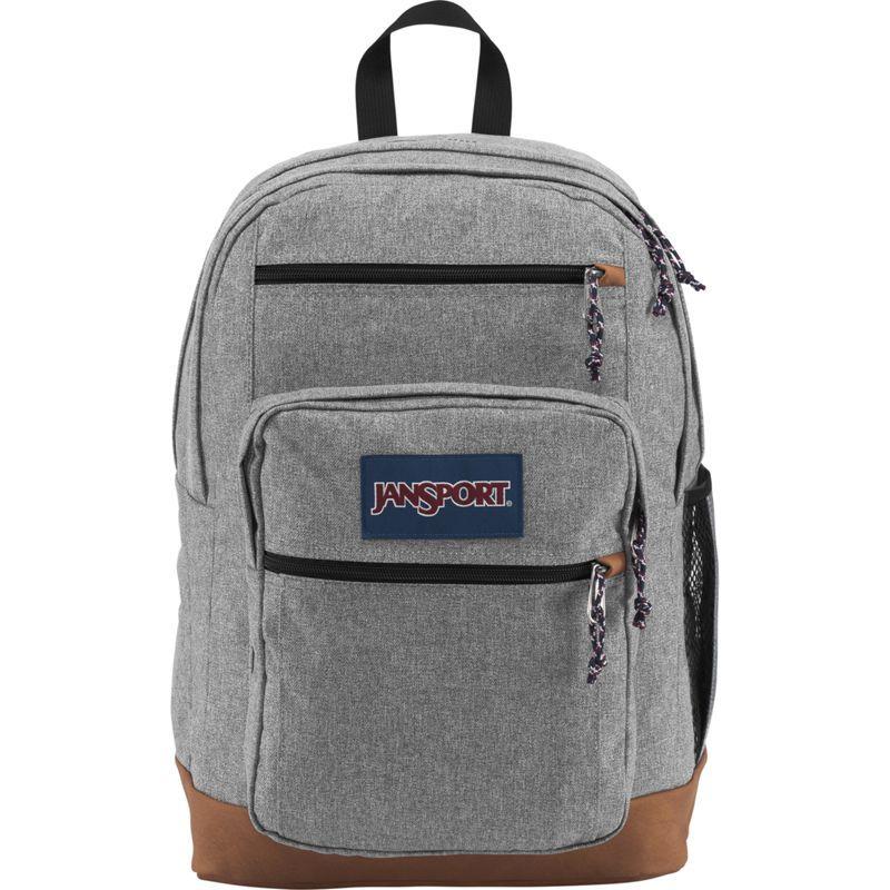 ジャンスポーツ メンズ バックパック・リュックサック バッグ Cool Student Backpack Grey Letterman Poly