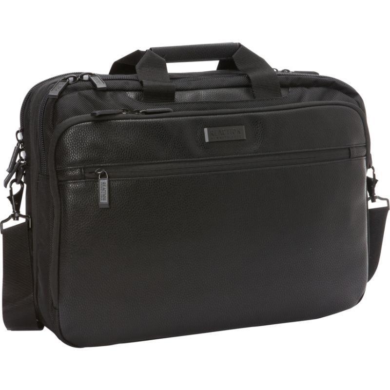 ケネスコール メンズ スーツケース バッグ Port-Vador RFID Top Zip EZ-Scan 17 Computer Case Black