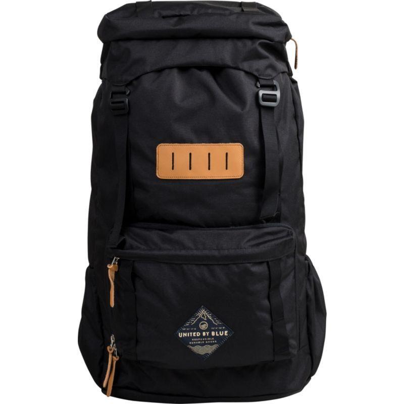 ユナイテッドバイブルー メンズ バックパック・リュックサック バッグ 45L Range Daypack Black