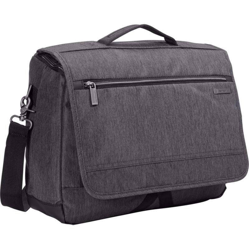 サムソナイト メンズ ショルダーバッグ バッグ Modern Utility Laptop Messenger Bag Charcoal Heather